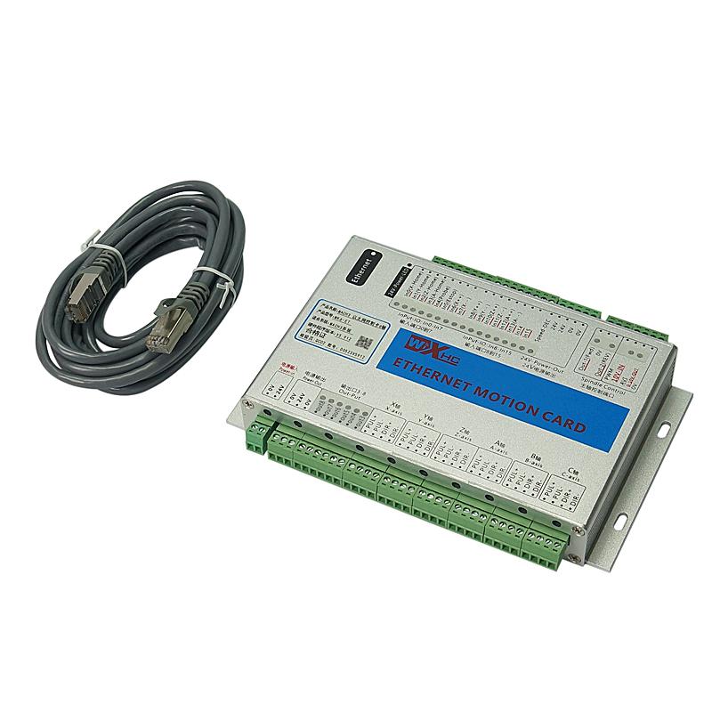 New Ethernet Port 2MHz Mach3 CNC Motion Control Card MK3 MK4 MK6