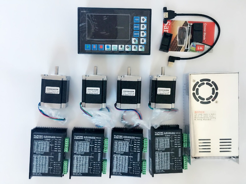4 Axis CNC Controller kits Offline Stand Alone Replace Mach3